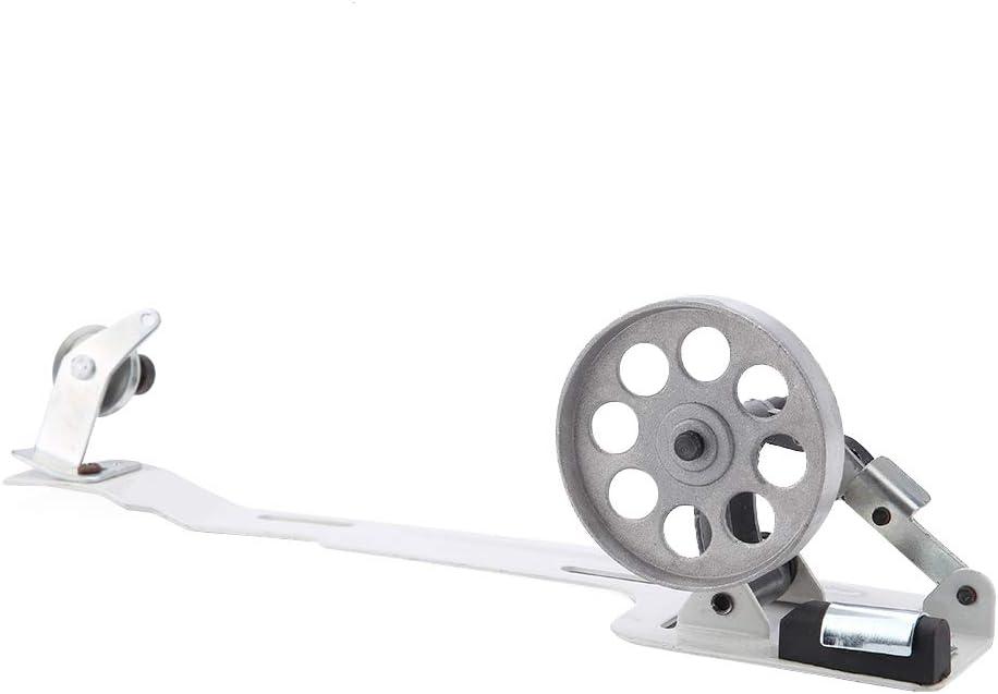 Yunnyp m/áquina de coser industrial de la devanadora de rueda plana de acero inoxidable 2-1//2 devanadora de rueda peque/ña para juki brother