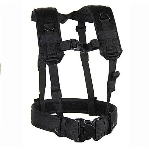 BLACKHAWK! Load Bearing Suspenders/Harness - Black