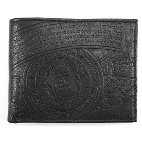 budweiser-embossed-leather-bifold-wallet