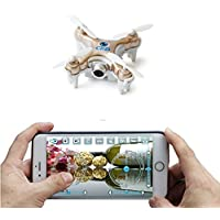 ZV RC Mini Drone With Camera FPV Super Mini Quadcopter with Camera Control by iPhone And Android Phone