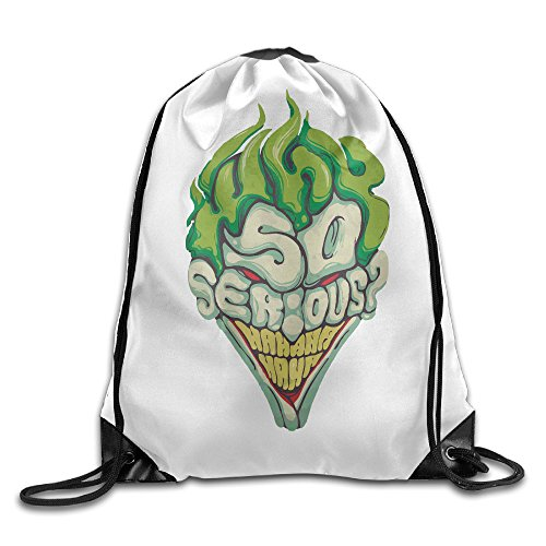 BACADI Joker Why So Serious Drawstring Backpacks/Bags. ()