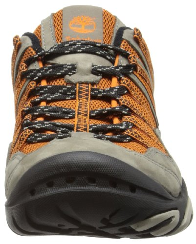 Timberland Ek Low Leather Ventilated, Scarpe da escursionismo Uomo Grigio (Pewter/Orange)