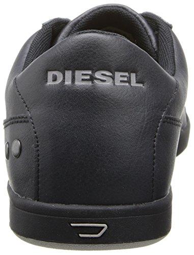 Diesel Mens Gotcha Mode Gymnastiksko Svart