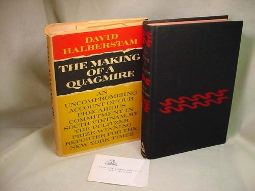 the making of a quagmire book review The making of a quagmire by david halberstam, 9780742560086, available at  book depository with free delivery worldwide  review quote for all the legions  of books published on the vietnam war, none surpasses one.