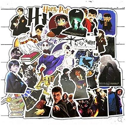 ZJJHX Harry Potter Doodle Personalidad Etiqueta PVC Etiqueta ...
