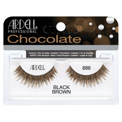 (3 Pack) ARDELL Professional Lashes Chocolate Collection - Black Brown 886