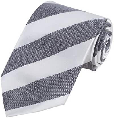 DAA7A01-03 Multicolored Stripes Tie Woven Microfiber Tie With Gift Box By Dan Smith
