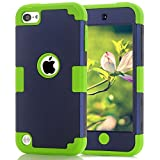 Case for iPod Touch 6th Generation Case for iPod Case Dual Layered 3