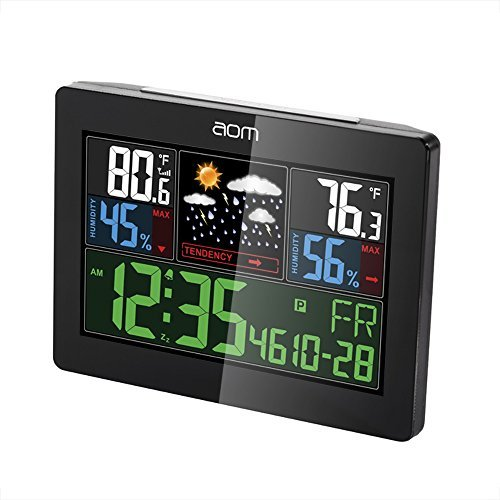 Backlight Weather Station Humidity Temperature