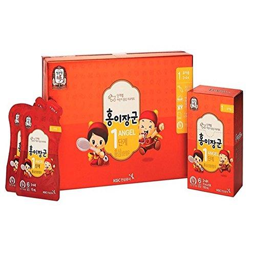 Cheong Kwanjang By Korea Ginseng Corporation Korean Red Ginseng HONGEJANGGUN Tonic for kids LEVEL 1 3 5 years old All New Version