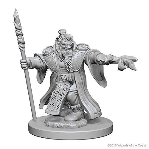 Dungeons & Dragons: Nolzur's Marvelous Unpainted Minis: Dwarf Male Wizard Wizkids WZK72620