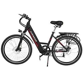 Ancheer Electric Bike 26 Inch Electric Commuter