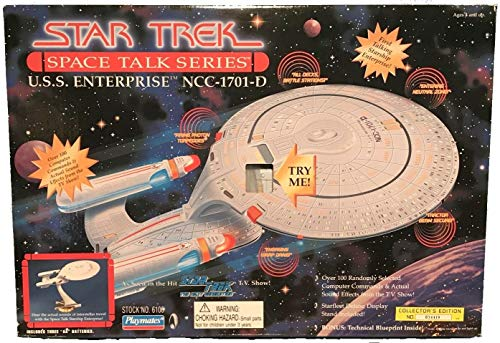 (Star Trek Starship USS Enterprise NCC-1701D Space Talk Series)