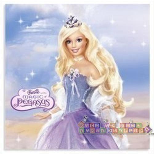 Barbie Magic of Pegasus Luncheon Napkins - 16 Count
