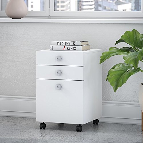 Office by kathy ireland Echo 3 Drawer Mobile File Cabinet by Kathy Ireland by Bush