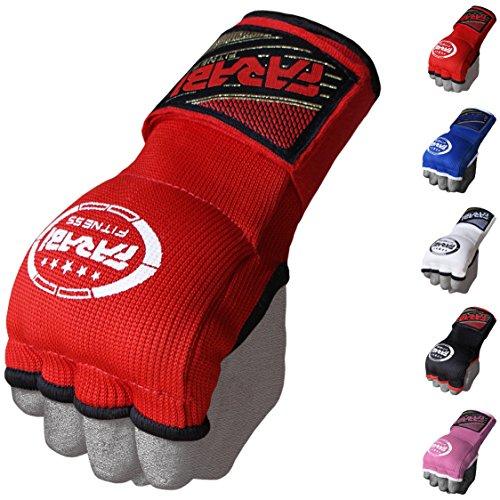 Farabi Hybrid Gym Fitness Workout Inner Gloves Bar Grippers Boxing MMA Muay Thai Gym Workout hand wraps Gel inner gloves fingerless gloves bandages mitts hand protector.