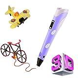 3D Pen for Doodler 3D Printing Pen for Kids 3D Printer with PLA ABS Filament