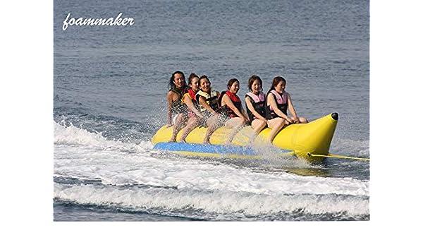 Foammaker - Barco Inflable para 6 Personas: Amazon.es: Deportes y ...