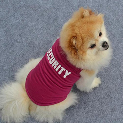 Howstar Pet T-Shirt, Dog Summer Apparel Puppy Pet Clothes for Dogs Cute Soft Vest