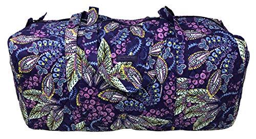 (Vera Bradley Large Traveler Duffel Bag (Batik Leaves))