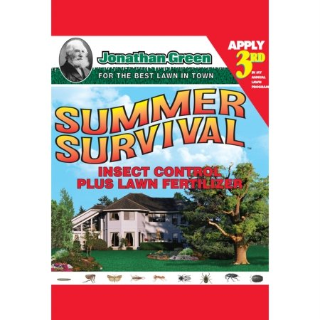 SUMMER SURVIVAL INSECT CONTROL & LAWN FERTILIZER