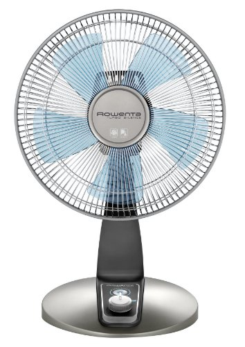 Rowenta VU2531 Turbo Silence Oscillating 12-Inch Table Fan Powerful and Quiet