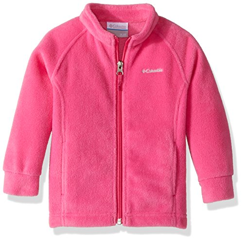 Columbia Sportswear Baby Benton Springs Fleece Outerwear, pink ice, 3/6