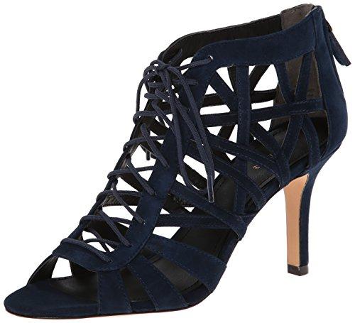 Pour La Victoire Women's Charlize Dress Sandal, Navy, 7.5 M US