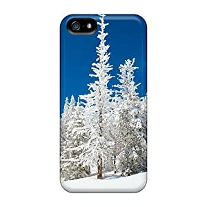 LastMemory Iphone 5/5s Well-designed Hard Case Cover Beautiful Snowy Forest Protector