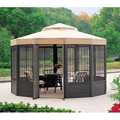 Garden Winds Replacement Canopy For Sams Club Sunhouse Gazebo Riplock 350 Ebay
