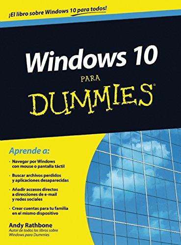 Amazon Com Windows 10 Para Dummies Para Dummies For Dummies