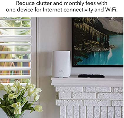 NETGEAR Orbi All-in-One Cable Modem + Whole Home Mesh-Ready WiFi Router -  for Internet connectivity and speeds up to 2 2 Gbps Over 2,000 sq  feet,