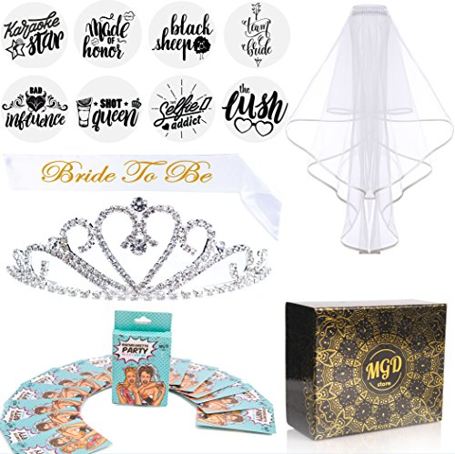 Bachelorette Party Kit Bridal Shower Supplies and Decorations |