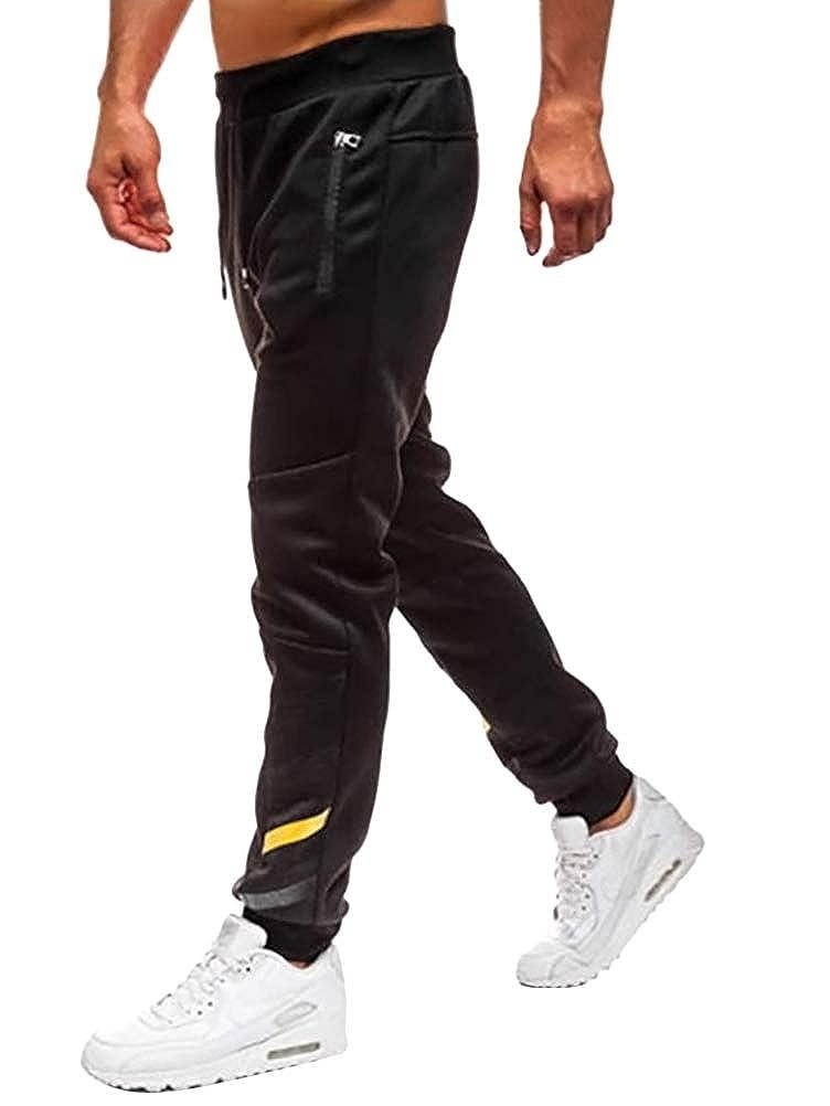 OranDesigne Jogginghose Herren Sporthose Lange Sweatpants Trainingshose Jogger Mode Hose Sommer Freizeit Hosen