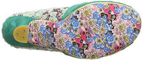 Irregular Choice Dazzle Pants - Tacones Mujer Verde (Green)