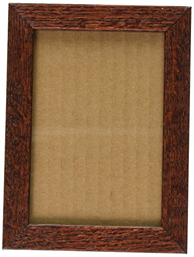 ArtToFrames 3.5x5 /  3.5  x  5 Picture Frame Cherry Stain on Red Oak ..  .625'' wide (2WOM81784) 0.625' Wall