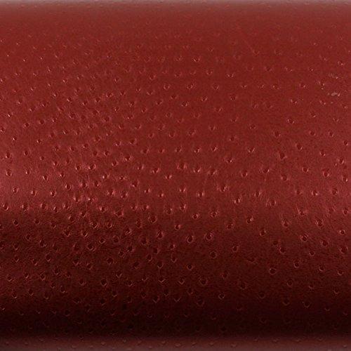 ROSEROSA Peel & Stick Backsplash Camel Red Wine Pearl Contact Paper Self-Adhesive Wallpaper Shelf Liner Table and Door Reform MG5102-6 : 1.96 Feet X 8.20 Feet by Leather Pattern Backsplash