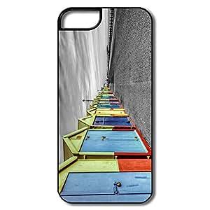 Rainbow Huts IPhone 5 /5s Case, Design Cute Design For IPhone 5s