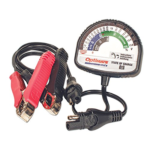 Optimate Test – State of Charge, TS-127, State of Charge Tester - All 12V Lead-Acid & 12.8V/13.2V Lithium
