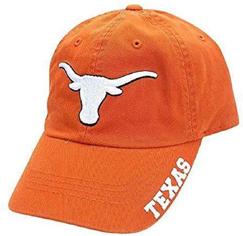 3ee7a1cb3dd93 289c apparel Texas Longhorns UT Orange Bevo Slouch Fit Adjustable Cap