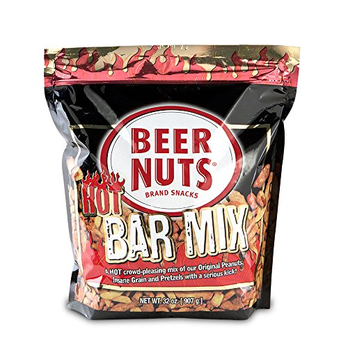 BEER NUTS | HOT Bar Mix. (32 oz bag) 2 Pack