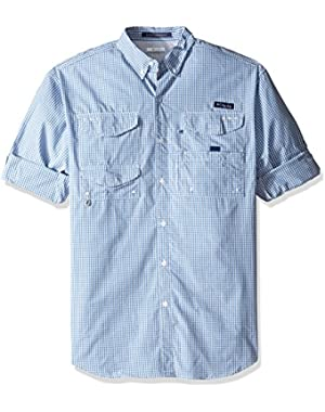 Men's Big Super Bonehead Classic Long Sleeve Shirt, Skyler Gingham, Large/Tall