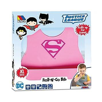MOLTO Supergirl Babero de silicona superheroes