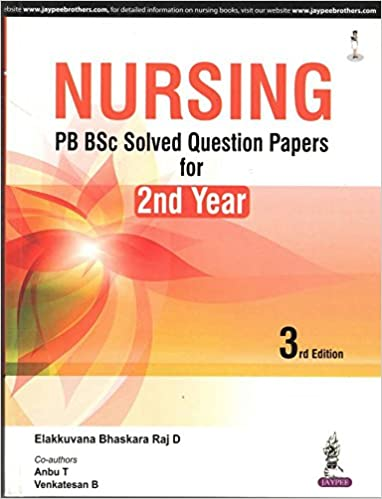 bsc nursing 2nd year question paper