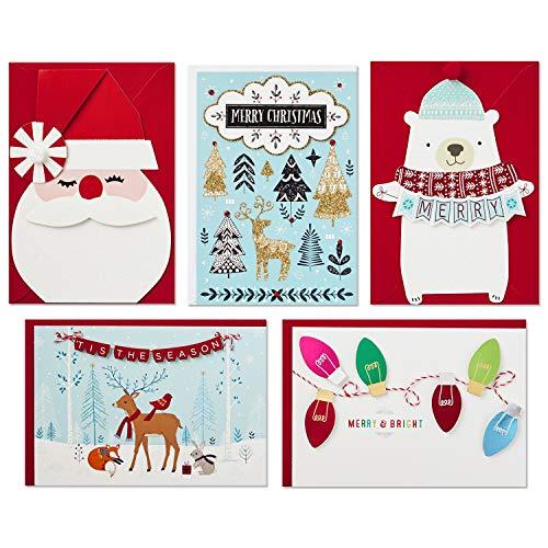 Hallmark Boxed Handmade Christmas Card Assortment (24 Cards and Envelopes) Photo #11