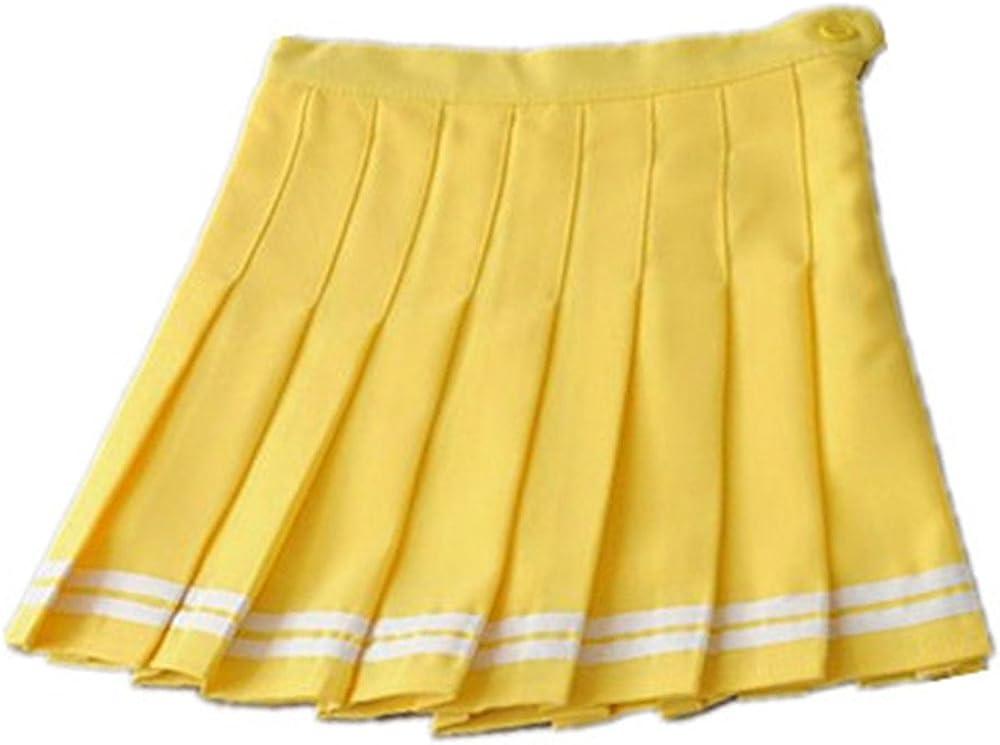 Haililais Donna Gonna Mini Casual Gonna A Pieghe Popolare Skirt Sportive Femminili Gonne Estive College Gonna Pattinatrice Moda Gonna