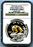 1999 China Silver Panda 10 YN BEIJING CO