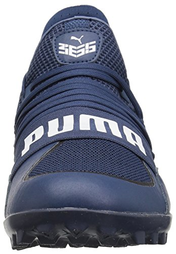 Pumas Mens 365,18 Enflamment St Chaussure De Football Sargasses Blanc Mer Pumas