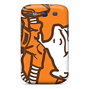 JonathanMaedel Samsung Galaxy S3 Perfect Cell-phone Hard Cover Provide Private Custom Vivid Cleveland Browns Pattern [VZw19272lUOx]
