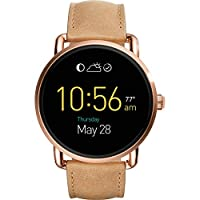 Fossil Q Wander Leather Touchscreen Smar...